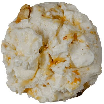 Yogurt with honeycomb walnuts